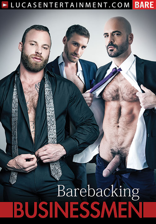 Gentlemen 13: Barebacking Businessmen Front Cover