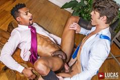 Gentlemen 17: Oral Office - Gay Movies - Lucas Raunch
