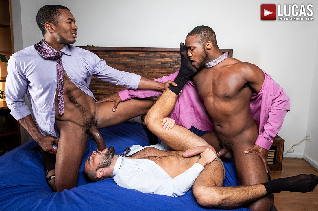Gentlemen 24: Man-On-Man Merger - Gay Movies - Lucas Raunch