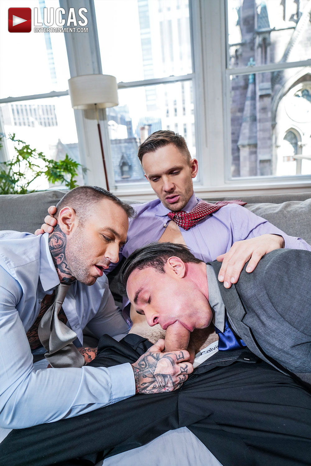 Gentlemen 27: Corporate Exploitation - Gay Movies - Lucas Raunch