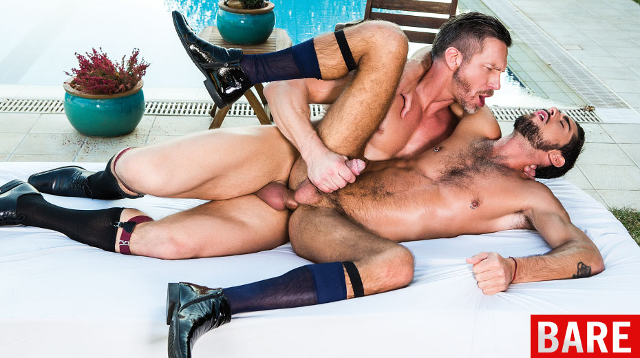 Fetish Guys Making Out In Group Fuck